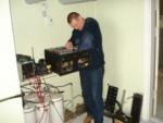 Начало установки 70см репитера YL3RCL в новый корпус (Юрий Немиро)