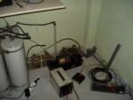 Пробное включение усилителя MOTOROLA 430MHz с максимальной мощностью 100W.