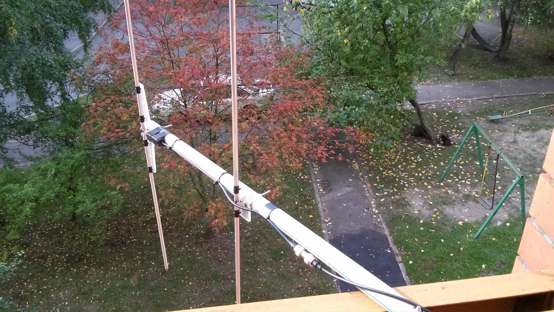 Балконная 145 мгц антенна от rz3aix yl3bu.lv.
