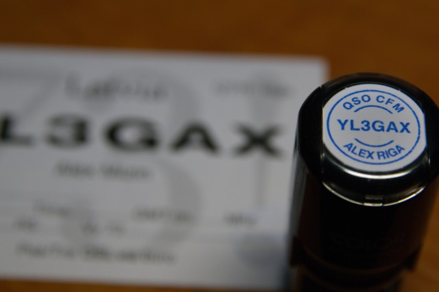 YL3GAX stamp example